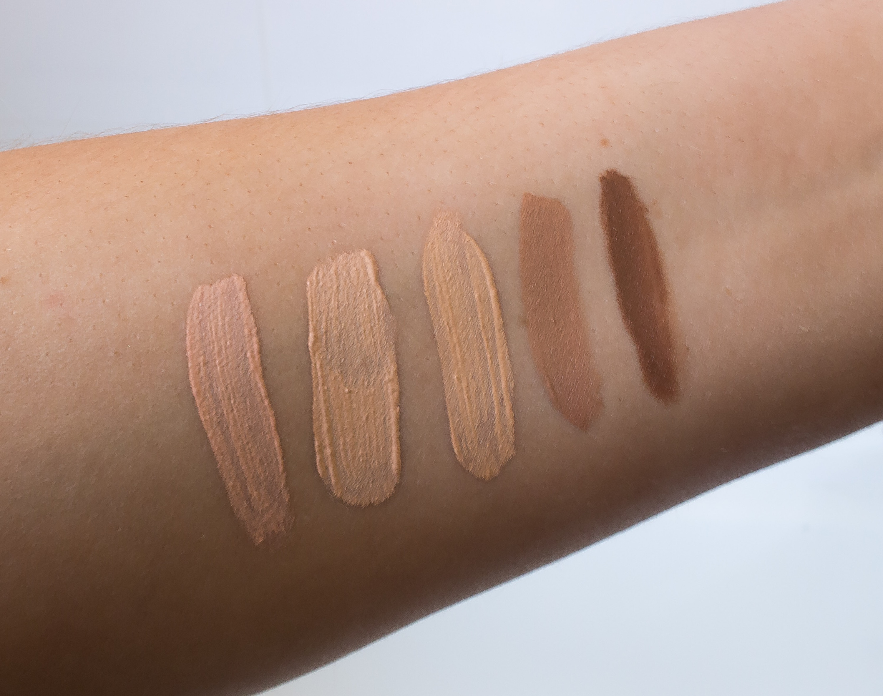 La Girl Pro Conceal Review And Swatches One Girls Obsessions Concealer L R Classic Ivory Natural Creamy Beige Almond Expresso
